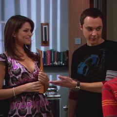 Sheldon introduces his twin sister.