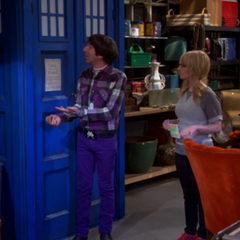 We can't get rid of my TARDIS.