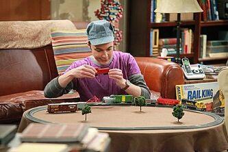 Sheldon and trains