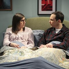 Sheldon is worried about Amy at her batchelorette party.