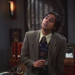 Raj has to work with a woman.
