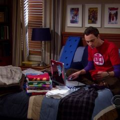 S02E17 - Sheldon packs for a conference