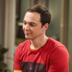 Sheldon talking to his girlfriend.