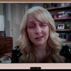 Bernadette has Pink Eye.