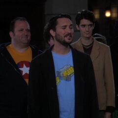 Wil Wheaton and his friends.