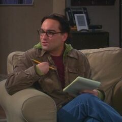 Leonard analyzes Sheldon.