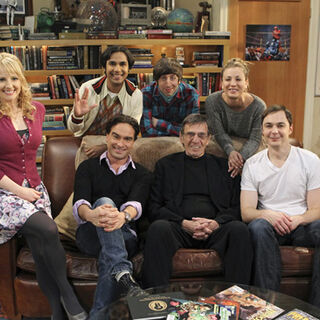 With the TBBT cast.