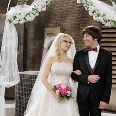 Presenting Mr. and Mrs. Wolowitz.