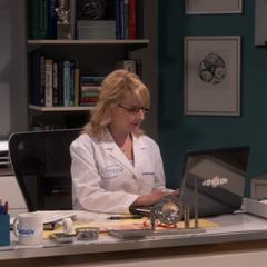Bernadette's office.