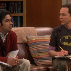 Sheldon reminded Raj of his cancelled wedding.