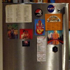 Raj's refrigerator