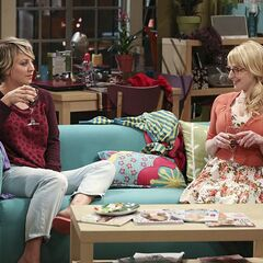 Bernadette talks Penny into taking her out to dinner.