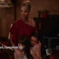 Kaley made up to look 30 ten years older on Charmed.