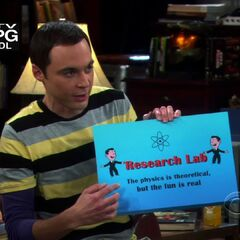 The game Sheldon invented.