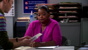 Octavia Spencer dealing with Sheldon