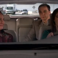 Shamy picked up Mary Cooper.