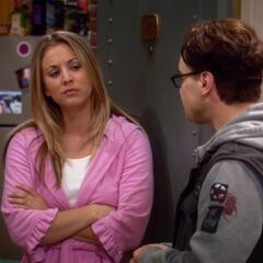 Leonard tries to find out about Stuart and Penny's date.  Penny doesn't want to talk about it.