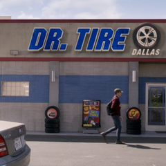 Dr. Tire store.