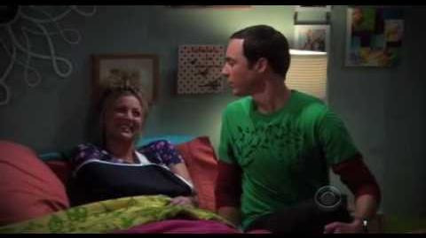 The Big Bang Theory - Penny hurt, Sheldon helps pt.2 of 2