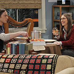 On Sheldon dating Amy