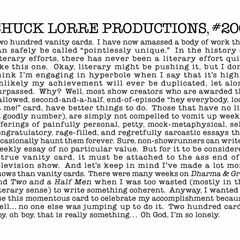 Chuck Lorre Productions, #200.