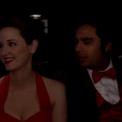 Emily and Raj.