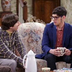 Howard meets his previously unknown younger half-brother Josh Wolowitz.