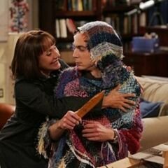 Mary comes for a surprise visit to see Sheldon.