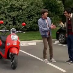 I bought the Vespa.