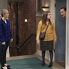 Sheldon shocked when both women are mad at him.
