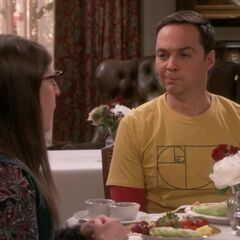 Sheldon twitches after a question he finds unanswerable.