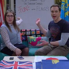 Presenting Dr. Sheldon Copper's Fun With Flags.