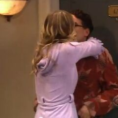 Penny kisses Leonard. Don't overthink this.