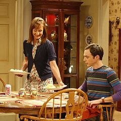 Mary prepares Sheldon's favorite toast.