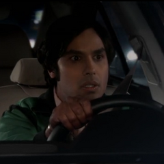 Raj stuck between two women.