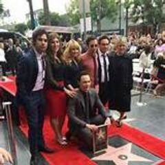 The star and the cast.
