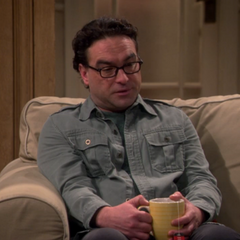 Leonard on his wedding night with Sheldon.