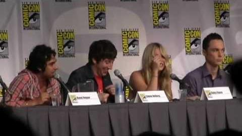 Comic-Con 2010 Big Bang Theory Panel - Part 4