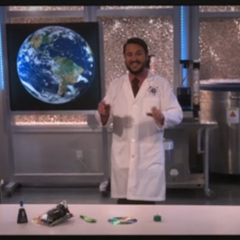Wil Wheaton as Professor Proton.