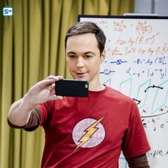Sheldon and his equations.