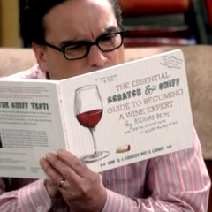Brushing up on wine.
