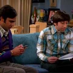 Raj is worried about the space probe he worked on.