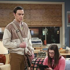 Amy signing the relationship agreement thereby breaking up with Sheldon.