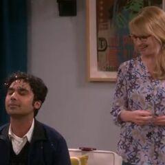 Raj has glitter!