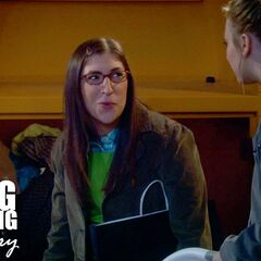 Amy does not mind being Penny's cellmate should they be caught stealing clothes.