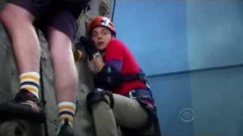 The Big Bang Theory - Sheldon Tries Rock Climbing