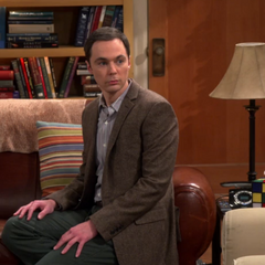 Sheldon you are half-human like Spock.