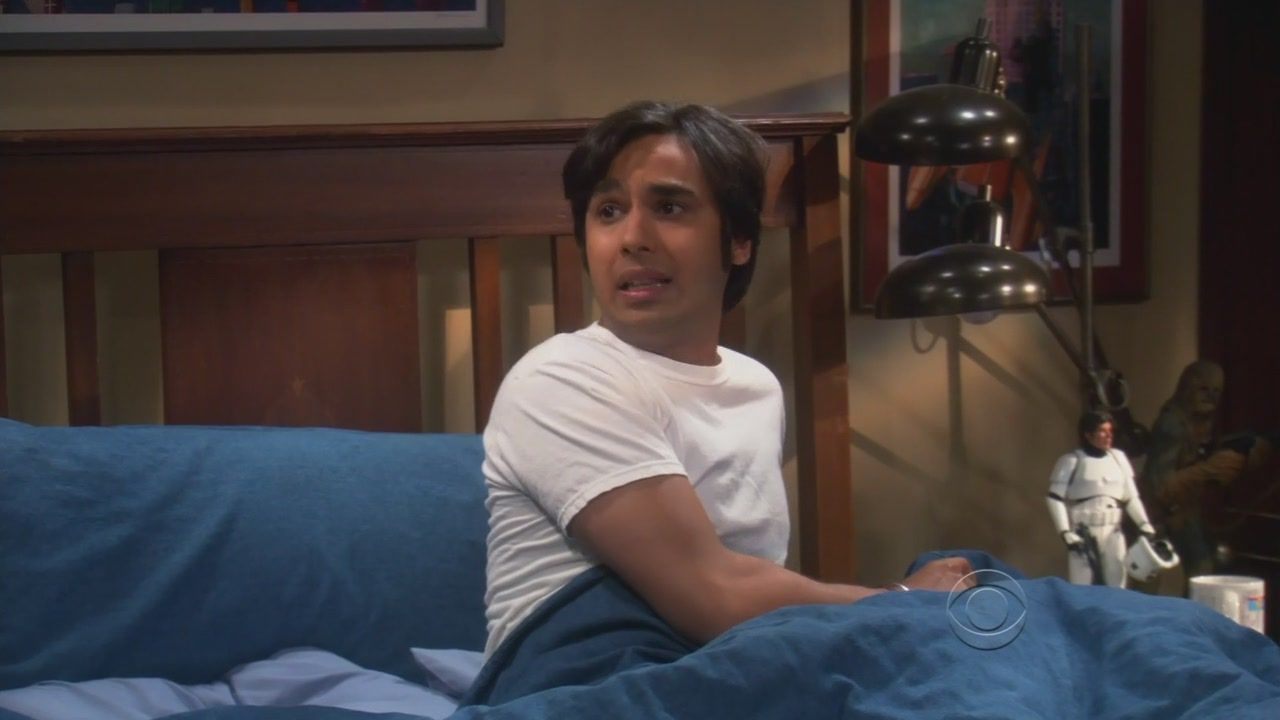 raj hook up with penny