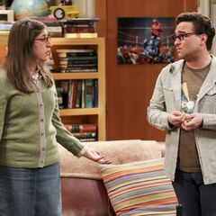 Amy's worried about Sheldon.