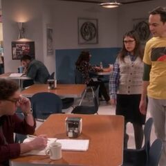 Shamy asks Leonard for a favor.